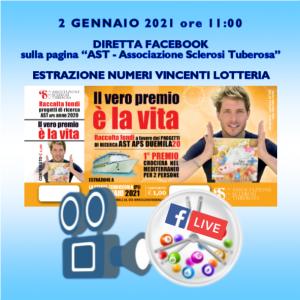 """Ed. 2020 Lotteria """"Il vero premio è la Vita"""" 2"""