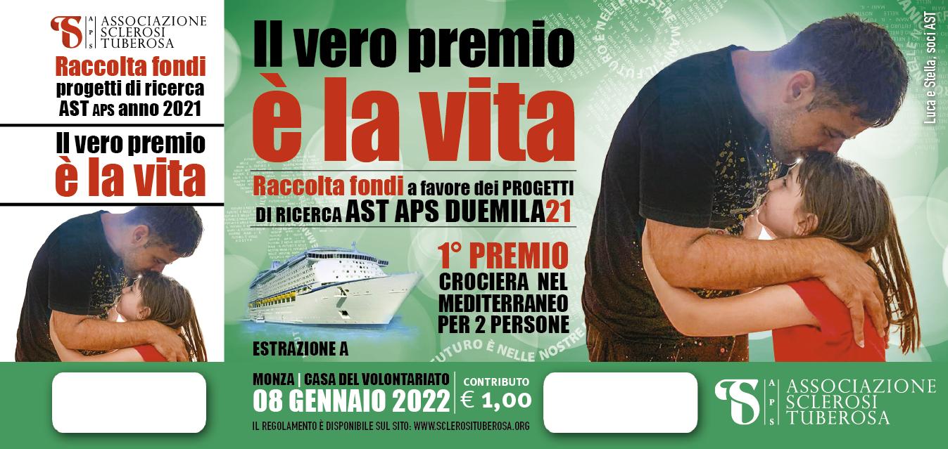 """Ed. 2021 Lotteria """"Il vero premio è la Vita"""""""